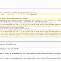 Validateur en ligne pour contrôler le code AMP HTML