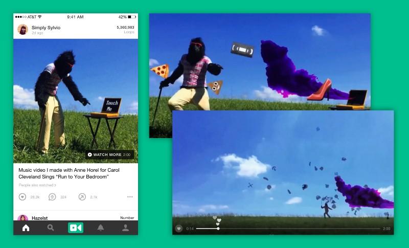 Vine et la création de vidéo de 140 secondes comme sur Twitter