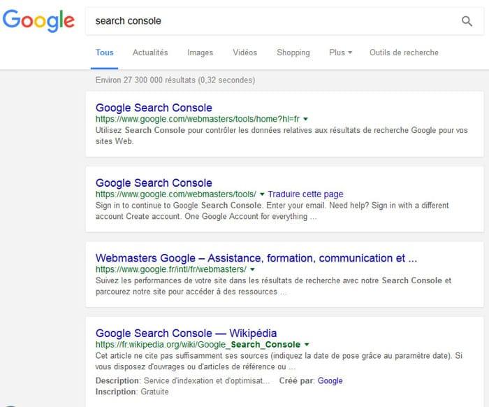 Distinction des résultats de Google avec un fond gris
