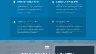 Page des formations web d'Internet-Formation