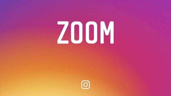 Zoom sur les photos et vidéos dans Instagram