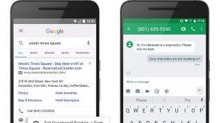 Google Adwords lance les annonces de message (SMS direct)
