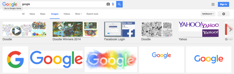 Google Images teste une nouvelle interface