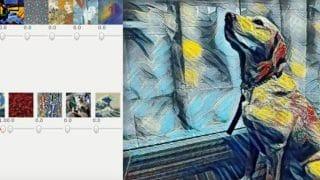 Combinaison artistique avec Style transfer de Google et les réseaux de neurones (machine learning)