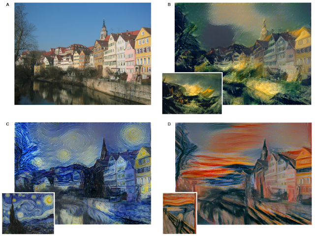 Style transfert app, le machine learning de Google au service de l'art