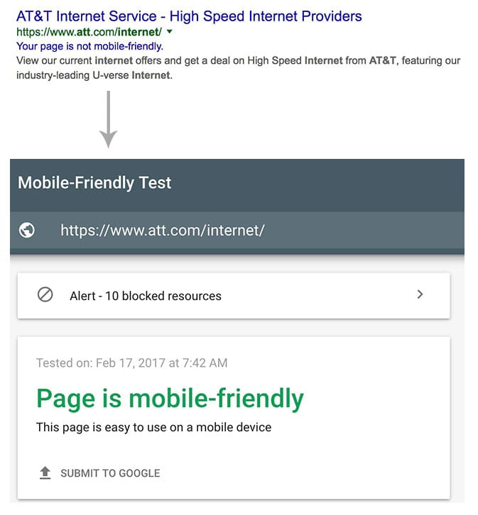 "Un bug de Google mobile affiche les sites en ""non mobile friendly"" à tort"