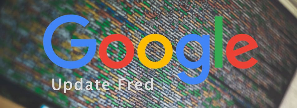 Google et l'update Fred