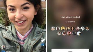 Instagram Live et les sauvegardes de vidéos en direct