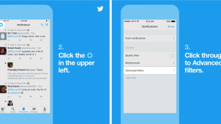 Twitter ajoute des filtres de notifications pour le réseau social