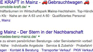 Emojis dans Google Adwords en Allemagne