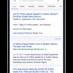 Label Fact Check (vérification des faits) de Google dans les SERP