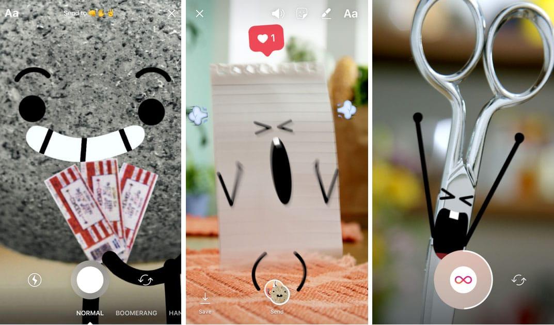 Instagram ajoute les vidéos et photos éphémères à Direct