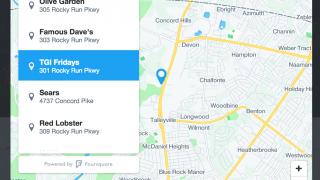API de localisation dans les messages directs de Twitter