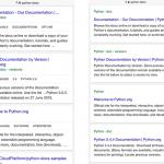 Tags et fil d'Ariane dans les SERP mobiles de Google