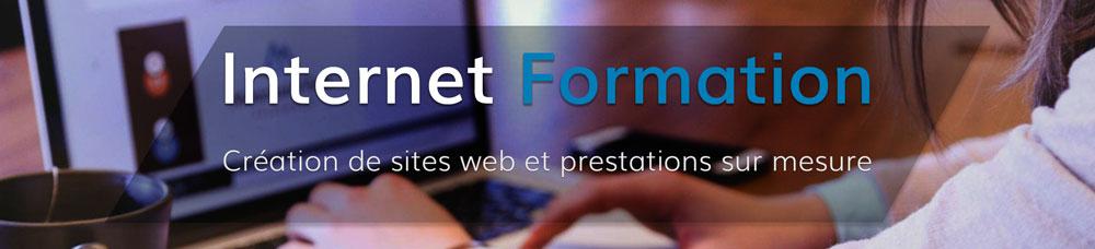 Création de sites web et prestations sur mesure par Mathieu Chartier et Internet-Formation