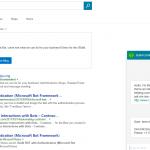 Bing Contoso Bot, un ChatBot personnalisable avec le Microsoft Bot Framework pour les entreprises