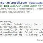 Bing propose des extraits de code en rich snippets