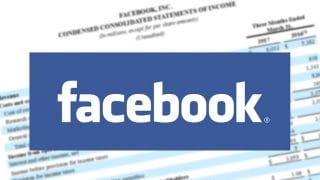 Facebook présente son rapport trimestriel en 2017