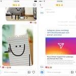 Instagram Direct ajoute des liens et l'orientation des vidéos et photos automatique.