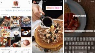 Instagram ajoute la recherche et l'exploration par hashtags Stories