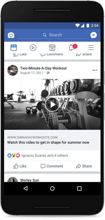 Facebook lutte contre les fausses vidéos (spam)