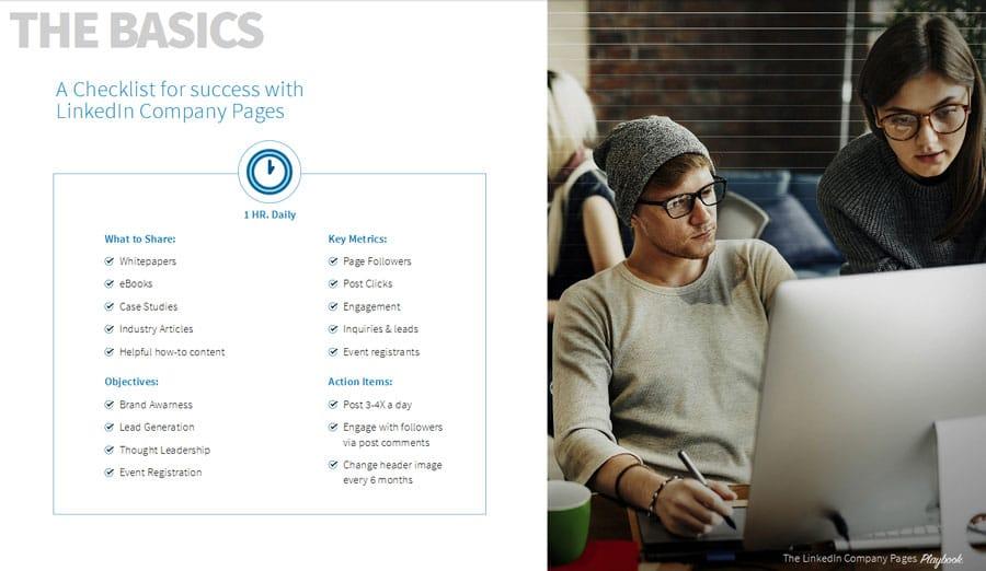 Guide pour le réseau social avec LinkedIn Company Pages Playbook