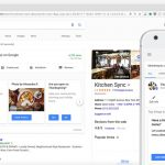 Google permet d'administrer Google My Business directement dans les SERP