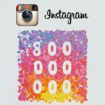 Instagram atteint les 800 millions d'utilisateurs actifs (septembre 2017)