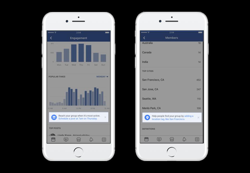Nouveaux contrôles pour les administrateurs de groupes Facebook