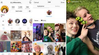Instagram Stories Highlights pour mettre en avant des Stories passées du réseau social