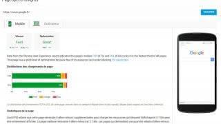Test du nouveau PageSpeed Insights et des données sur la vitesse de chargement des pages