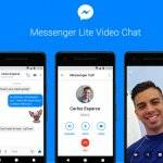 Facebook Messenger Lite ajoute les tchats vidéo dans sa messagerie
