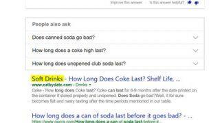 Exemples de requêtes similaires dans Bing, trouvées grâce au deep learning