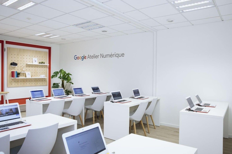 Découverte du premier Atelier numérique de Google à Rennes en France