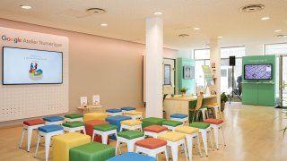 Premier Atelier numérique à Rennes en France pour Google