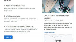 Google My Business accueille deux nouveaux types de posts (publications)