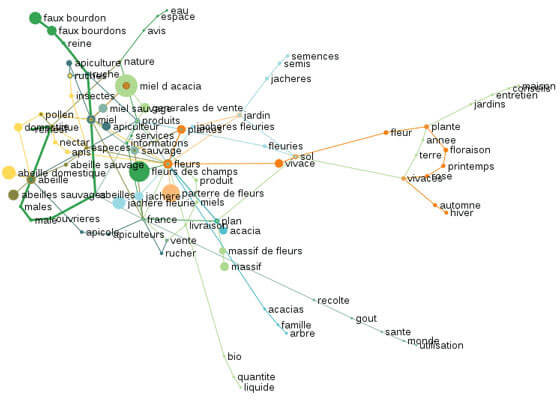 Graphe sémantique avec metamots