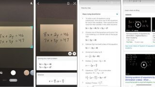 Bing Images propose Math Solver sur iOS et Android pour résoudre les problèmes mathématiques