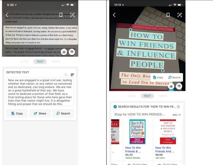 Transcription de texte en tout genre avec Bing Visual Search