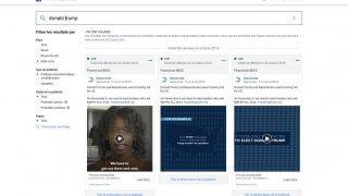 Archives sur les publicités de Facebook