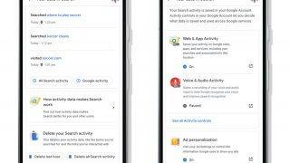 Google ajoute un contrôle de confidentialité et de données personnelles sur sa page d'accueil
