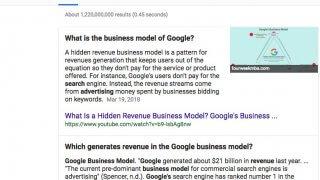 Google teste les features snippets multiples sur ordinateur