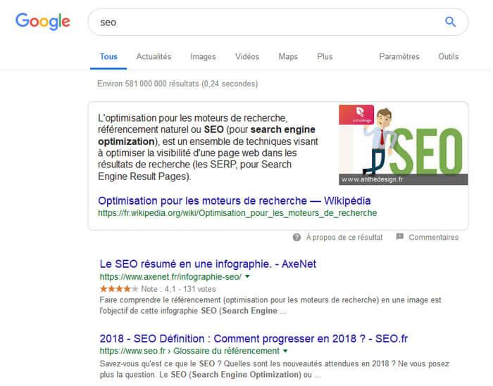 Google arrondit son champ de recherche