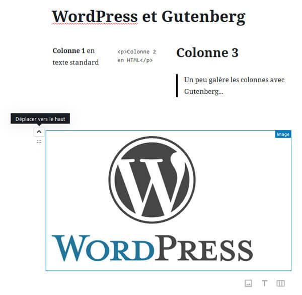Usage avancé de l'éditeur Gutenberg de WordPress 5
