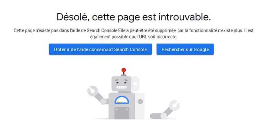 Vers la mort du test des domaines de propriétés de la Google Search Console ?