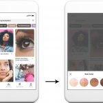 Ajout de filtres de choix de couleur de peau sur Pinterest