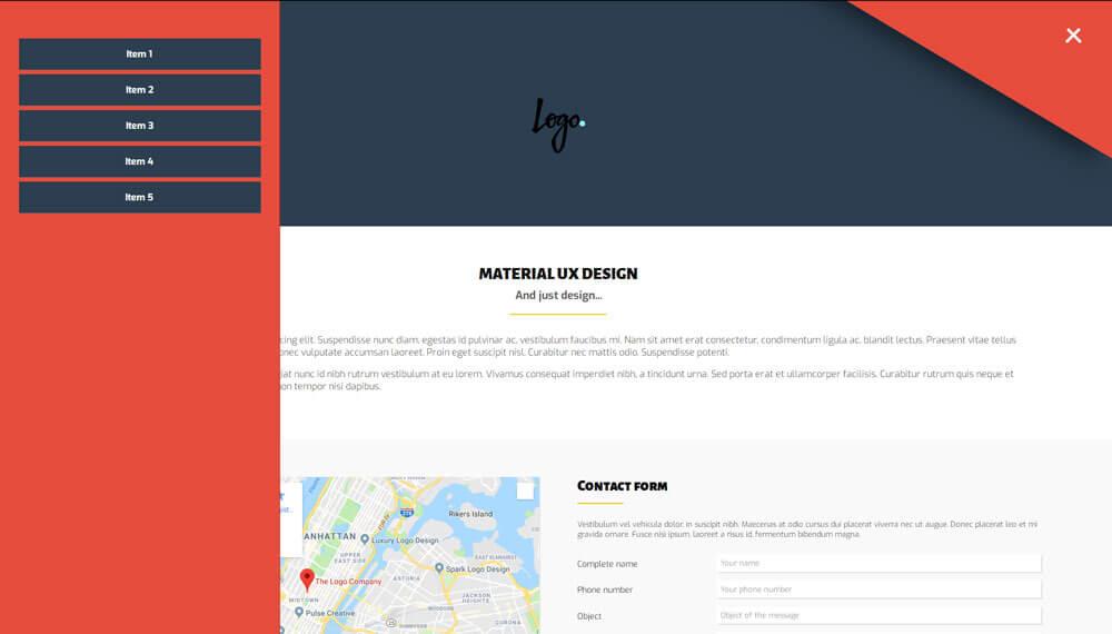 Créer un menu latéral (swipe menu) avec Touch Events et