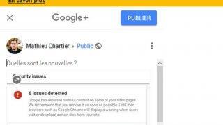 Google+ va disparaître le 2 avril 2019